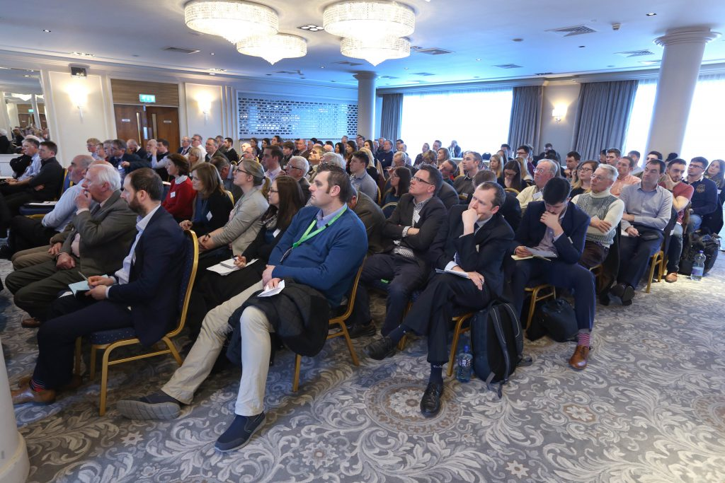 Delegates attending the the Agricultural Science Association (ASA) Climate change conference in Portlaoise. Picture: Finbarr O'Rourke