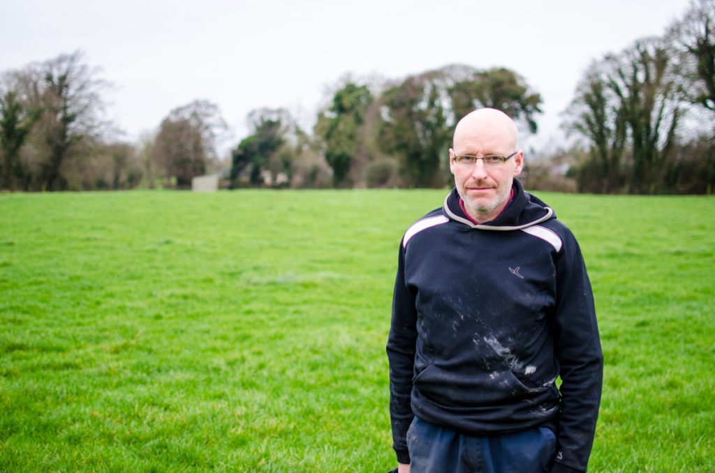 Jarlath Hughes will milk nearly 100 crossbred cows in Summerhill, Co. Meath this year