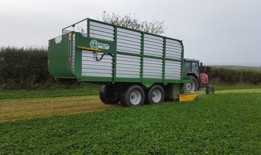 Grass Tech zero-grazing machine