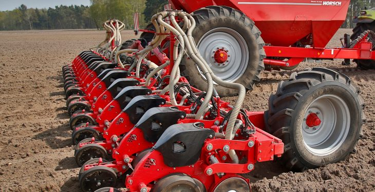 Less 'pressure' using latest drill from Horsch