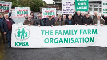 Farmers protest against the closure of Regional Veterinary lab in the west