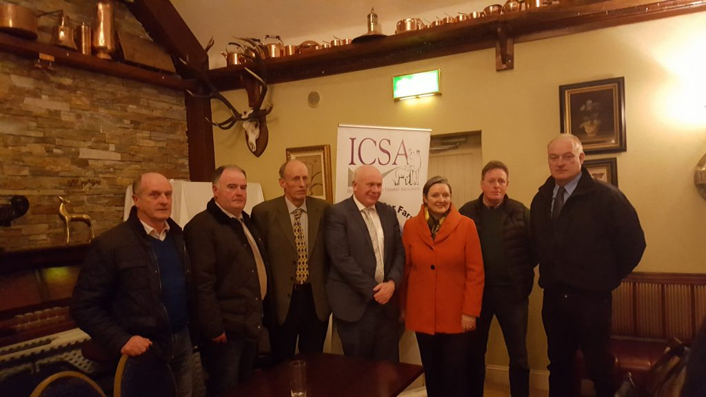 The ICSA meeting on the proposed Shannon-Dublin pipeline was attended by Fianna Fail TD Jackie Cahill and Minister of State for Health Promotion Marcella Corcoran-Kennedy.
