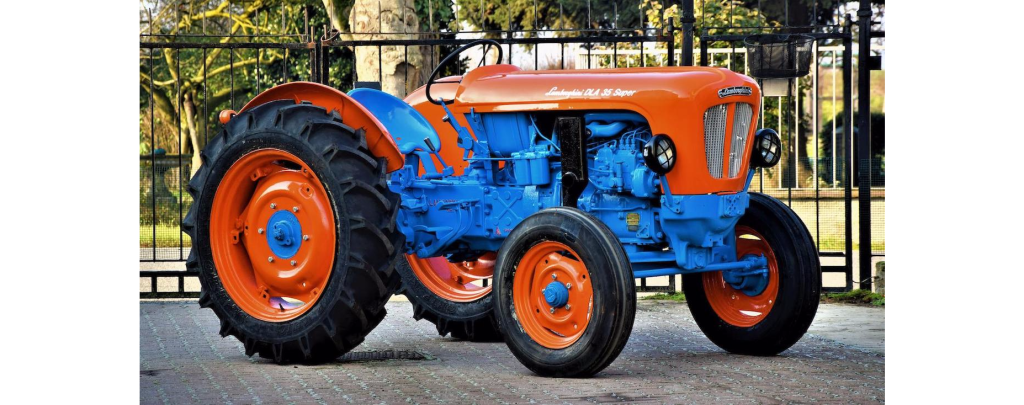 Vintage lamborghini tractor