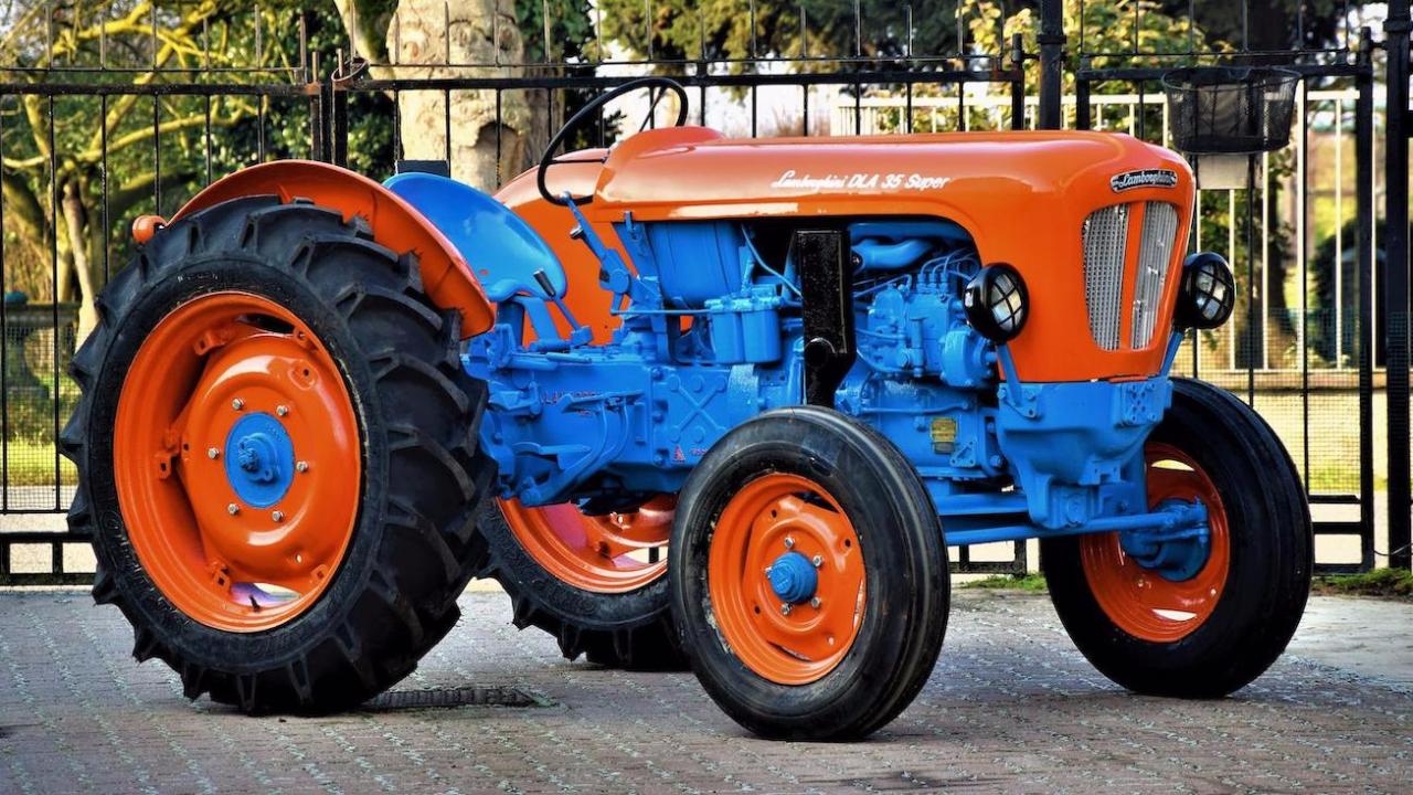 Pics: Rare Lamborghini vintage tractor worth €25,000 to go to auction