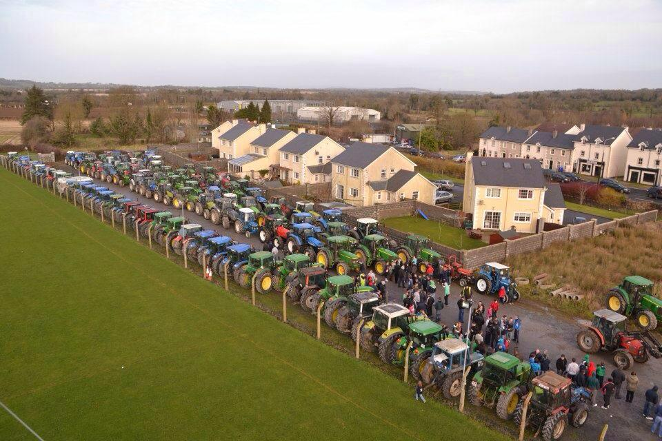 The Murt and Minty Tractor Run in Co. Kilkenny