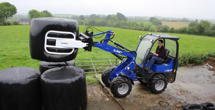 Video: Interest 'stacks up' in new, compact Irish-built loader
