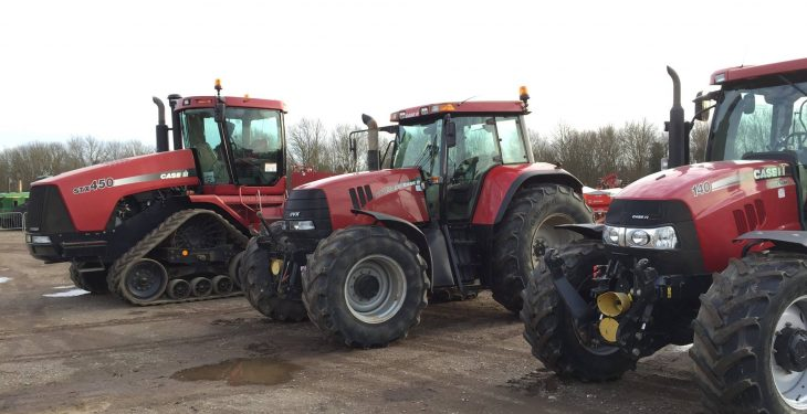 'Trade for quality tractors considerably higher than this time last year'
