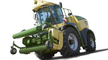 100 acres of grass in 10 minutes, with as many forage harvesters as can be found…