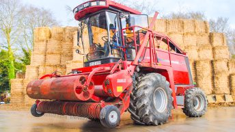 5 friends buy and 'do up' an ageing Case IH forager…for fun and charity