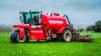 Video: 3-wheeled, self-propelled slurry tanker is now a familiar sight in Co. Galway