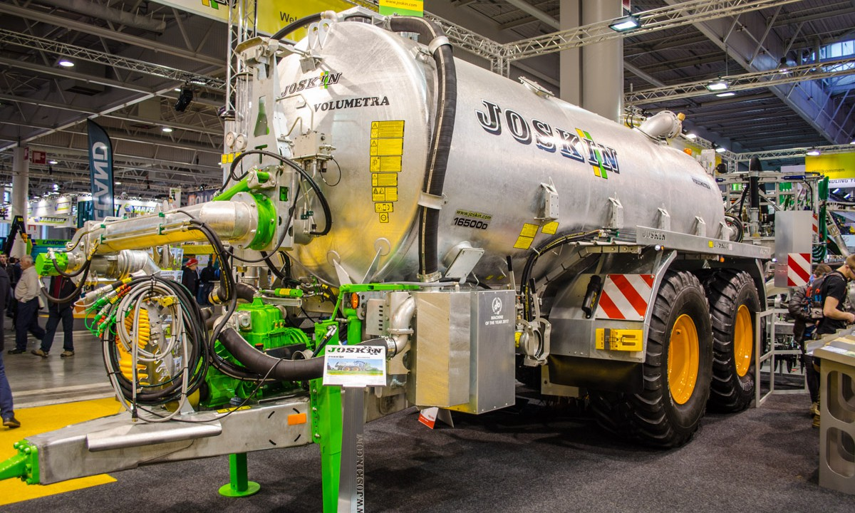SIMA 2017: Wider injectors and longer booms from Joskin