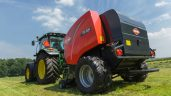 A round baler that opens, closes and 'unblocks'…all by itself