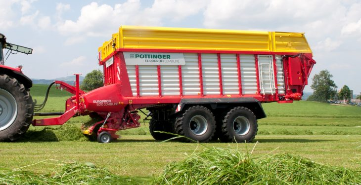 Package of Pottinger upgrades for 2017 silage wagons