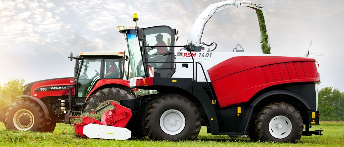 Tractor Brand Names : Will these russian forage harvesters make it to ireland