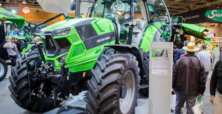 Pics: Numbers down at international farm machinery extravaganza