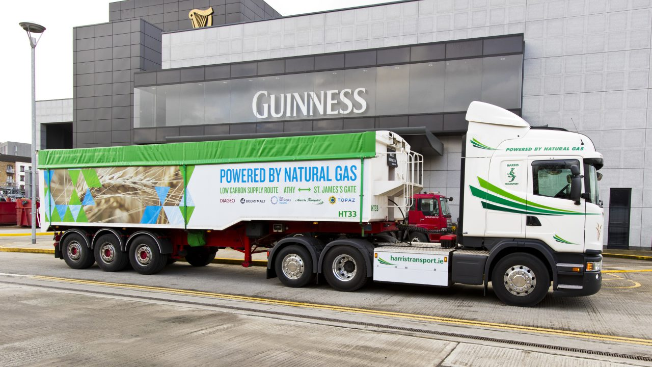 Not just hot air: Ditch your tractor and haul your grain in this gas-powered truck