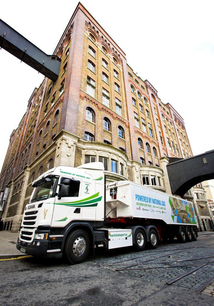 Diageo truck