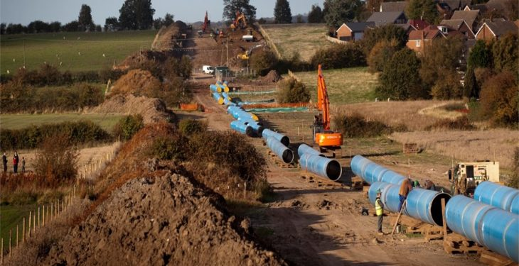Water pipeline 'awash' with talk of if, when and compensation
