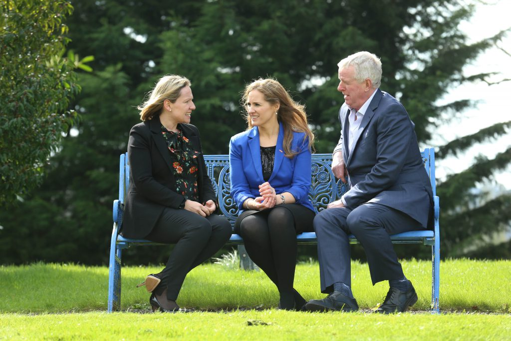 Lucinda Creighton, Vulcan Consulting, Mary Delaney, ASA President, and John Moloney, Chairman, Food Wise 2025