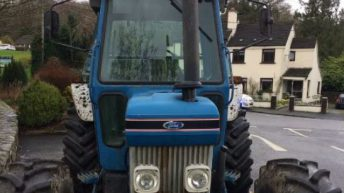Pic: 'Uninsured' Ford tractor seized by Gardai in Wicklow