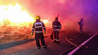 Video: Weekend sunshine sparks a 'surge' in illegal wild fires