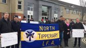 IFA members hold sit-in protest at Department of Agriculture's Nenagh office