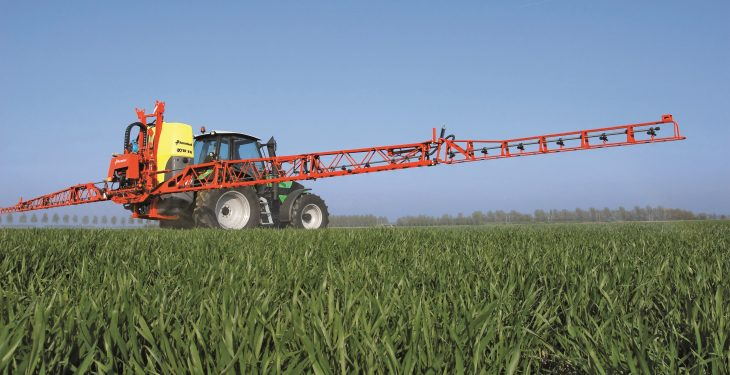 Almost 75% of sprayers yet to be tested