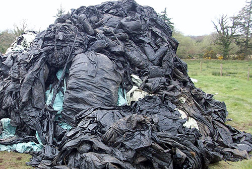 Farmers are recycling more and more farm plastics at reduced prices