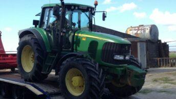 Reward offered for John Deere tractor stolen in Co. Carlow
