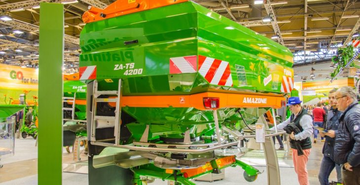 SIMA 2017: Accurate fertiliser application…'right up to the edge'