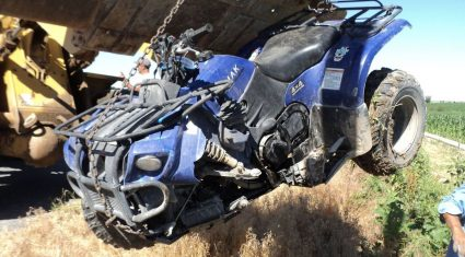 Leenane farmer opts for twin wheels on his quad to avoid further heartache