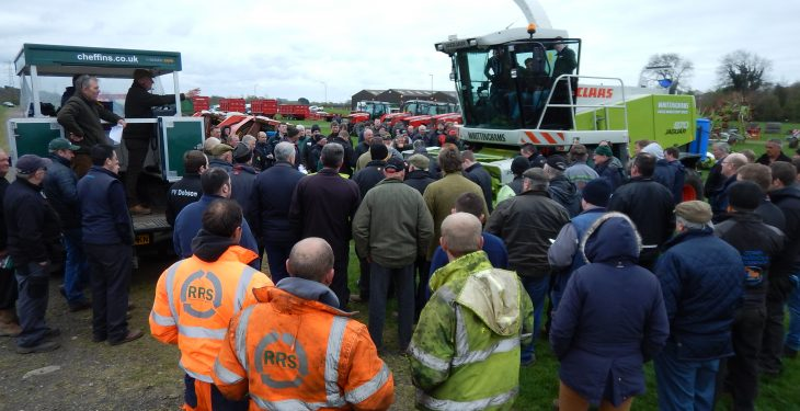 Prices: Monster on-site auction of UK farm machinery attracts Irish interest