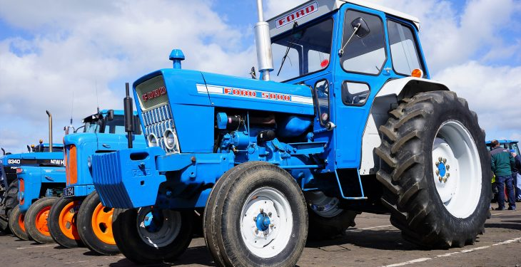 Pics: Machinery and childhood memories abound at huge Ford tractor display