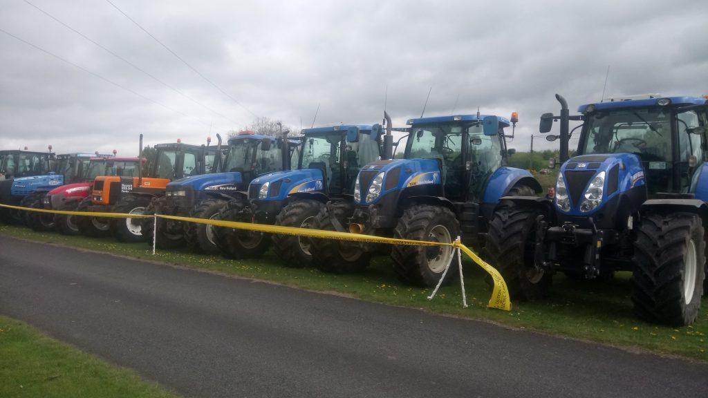 tractor run