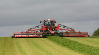A closer look at Kongskilde, as it enters the New Holland stable