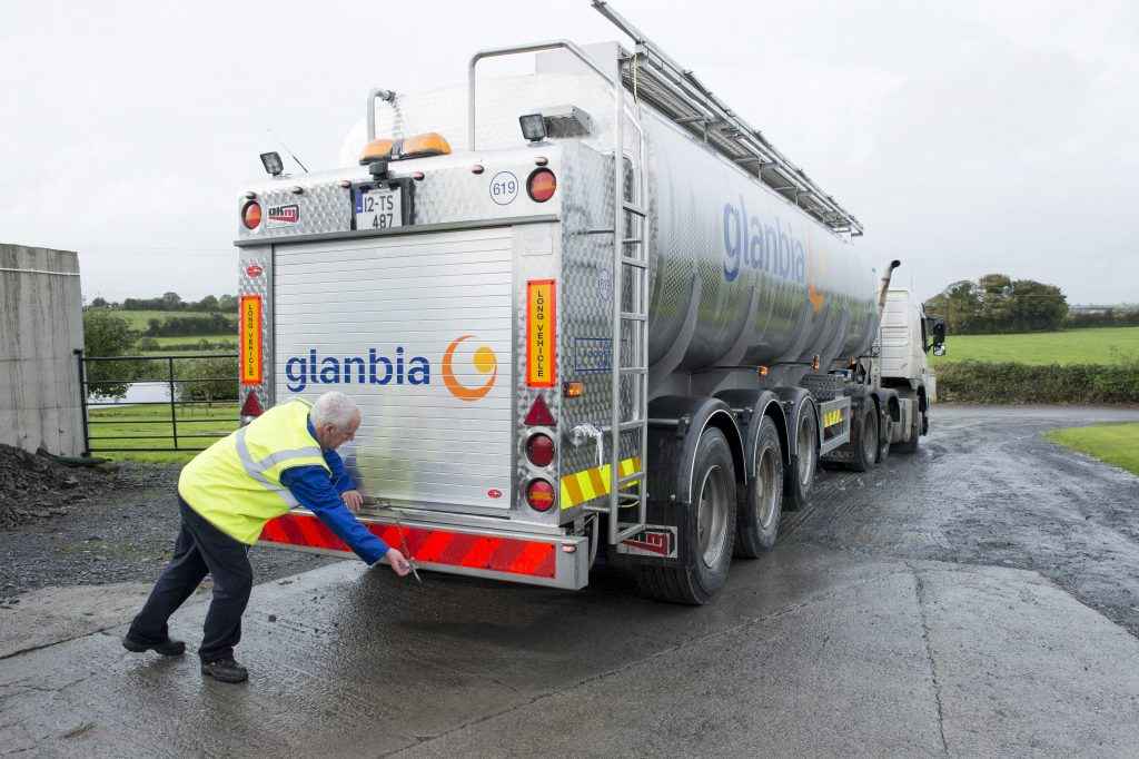 bonus Glanbia MilkFlex, Truck, Milk, Milk Price, loyalty, welcome