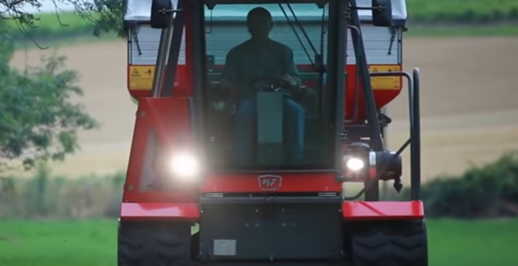 Video: Is this the ultimate 'alternative tractor' for wet ground?
