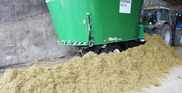 Keenan 'vertical' feeder gets first run-out in Northern Ireland