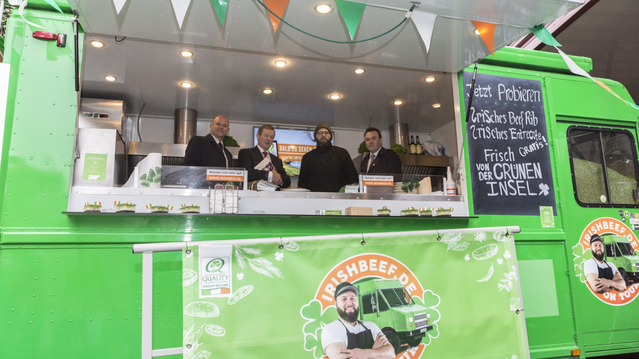 Taoiseach drives Irish beef promotion in Germany