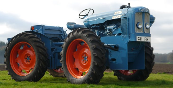 Classic tractor sells for over £86,000 at auction, setting a new UK record