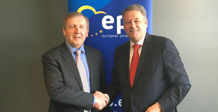 Latest leg of Brexit meetings leads Minister Creed to Luxembourg