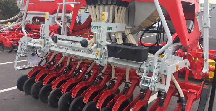 'Multi-purpose' Pottinger seed drill that can sow…almost anything