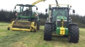 Pics: Deere fleet tackles into silage campaign in Kilkenny…in April