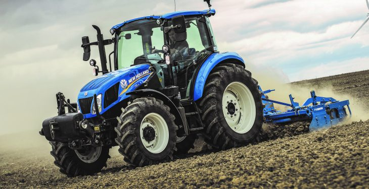Revamped 'mid-range' tractors from New Holland