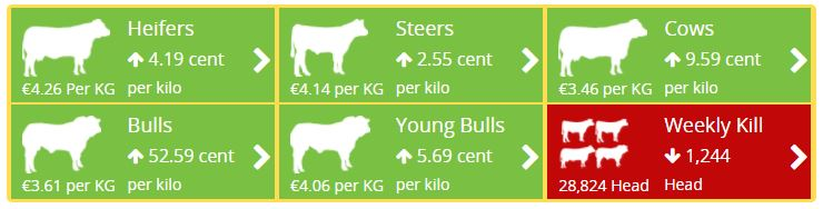 beef prices April 27