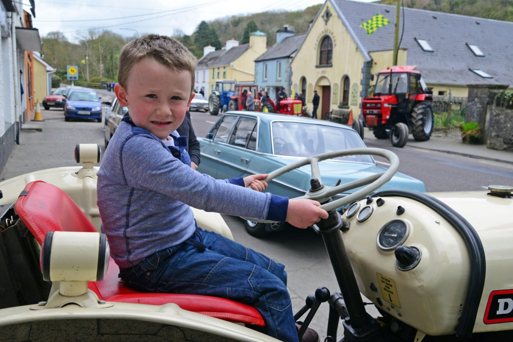 Picture Denis Boyle tractor run