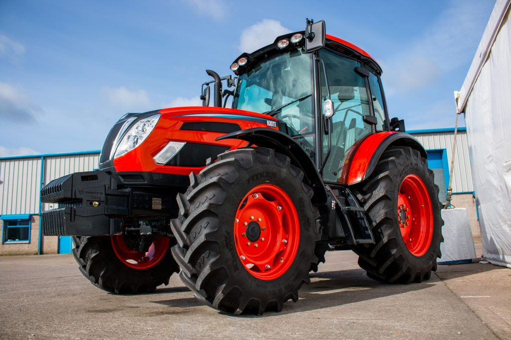Cyril Johnston appointed Kioti tractor dealer for Northern