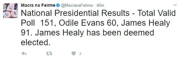 macra election tweet