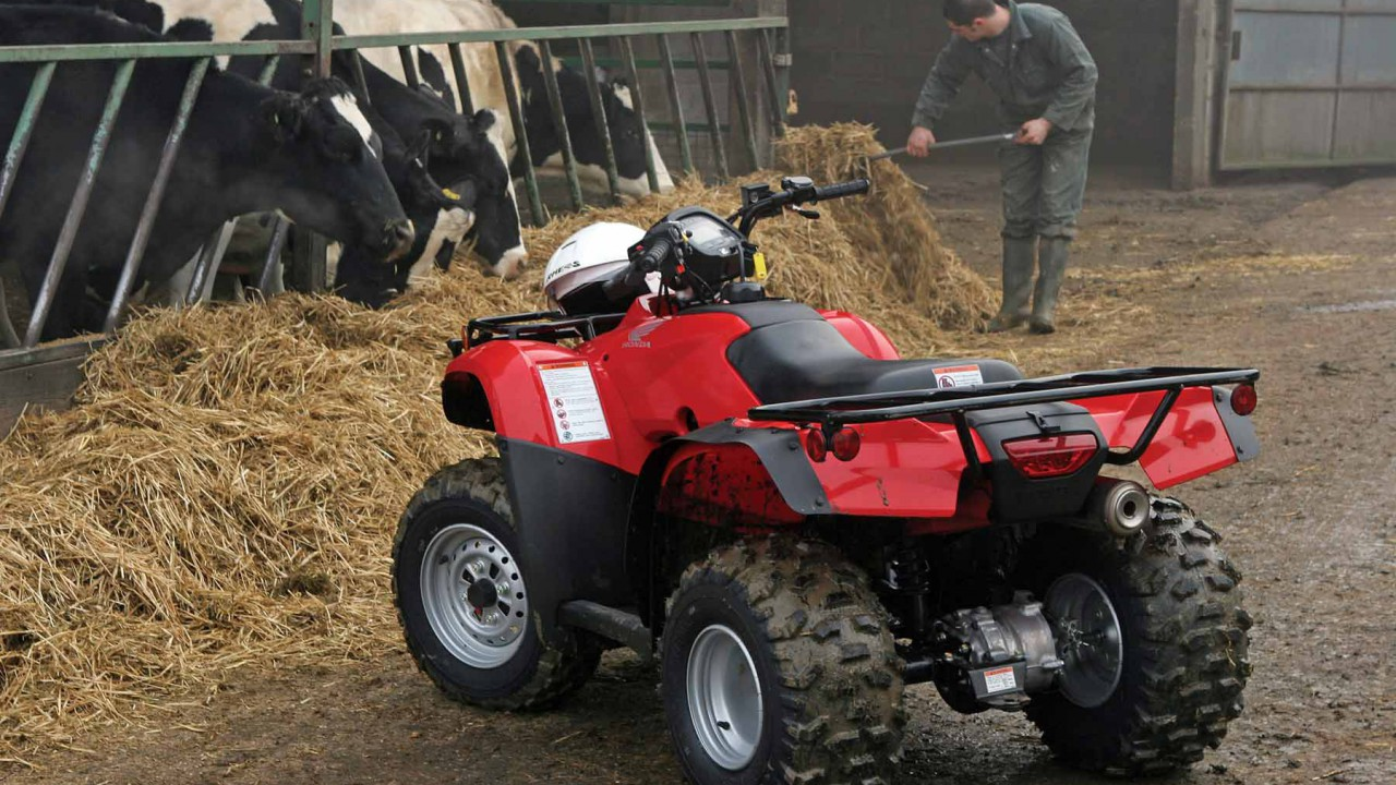 Driving a quad on the farm: Tips and best practice advice