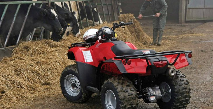 Two men arrested and quad worth €8,000 recovered